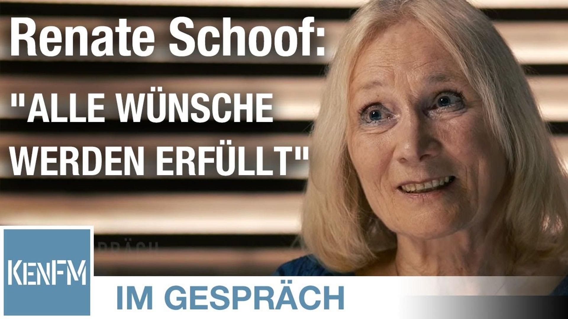 """Im Gespräch: Renate Schoof (""""Alle Wünsche werden erfüllt"""")"""