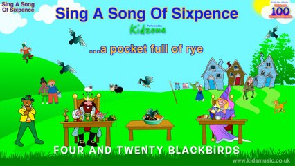 Kidzone - Sing A Song Of Sixpence