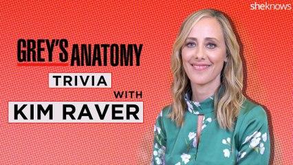 Grey's Anatomy Trivia with TV Star Kim Raver