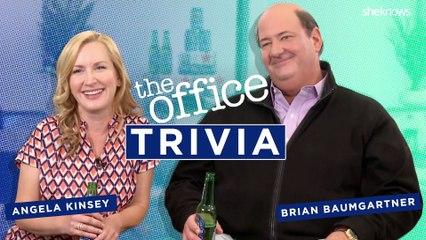 "Angela Kinsey and Brian Baumgartner Play ""The Office"" Trivia!"
