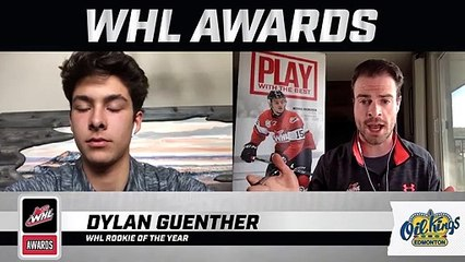 WHL Awards Interview: Dylan Guenther, WHL Rookie of the Year