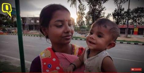Karnataka: Shramik train चलने के बावजूद पैदल चलने को मजबूर प्रवासी मजदूर-Ground report