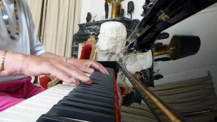 virus blues ,improvisation piano par  vladimir mitz