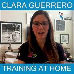 Clara Guerrero Training at home