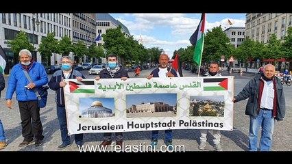 الإعلام المرئي يتفاعل بإيجابية مع نشاطات هيئة المؤسسات والجمعيات الفلسطينية والعربية في برلين