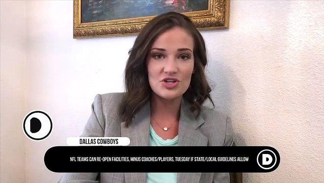 Uncertainties For Cowboys as NFL Teams Re-Open Facilities