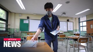 S. Korean high school seniors resume classes on Wednesday after months of closure due to COVID-19