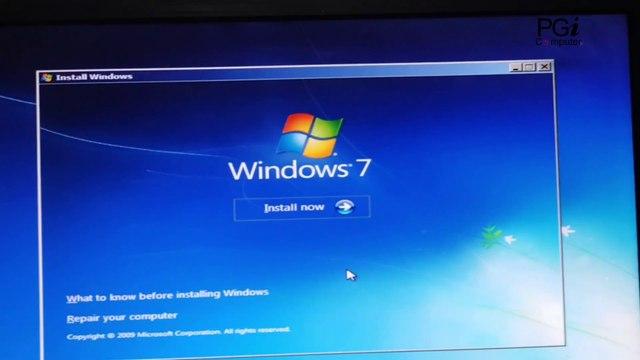 how to install windows 7 | window 7 kaise install kare in hindi pendrive | windows full  installation