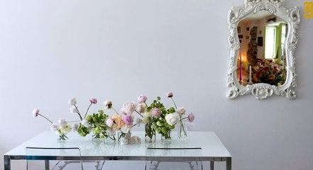 تنسيق ورود سفرة رمضان مع Fine Blooms