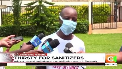 Sanitiser Challenge in Murang'a Leaves Alcoholics Bedridden
