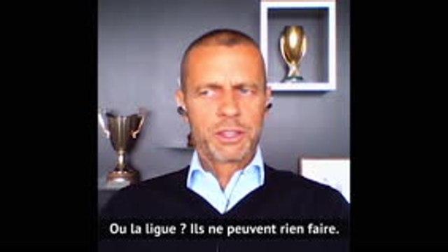 """Ligue 1 - ?eferin : """"La décision d'arrêter la saison était prématurée"""""""