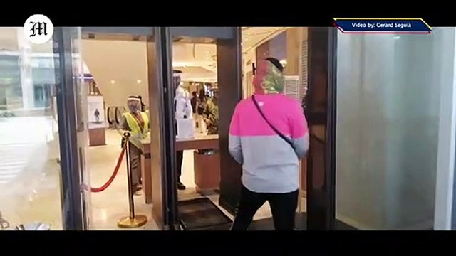 WATCH: Strict Sanitary protocols at Uptown Mall in Taguig