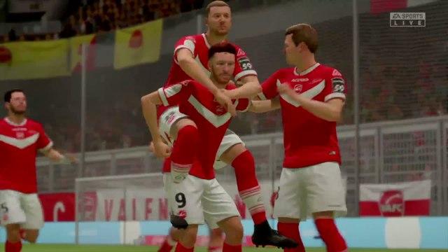 Valenciennes FC - US Orléans : notre simulation FIFA 20 (L2 - 33e journée)