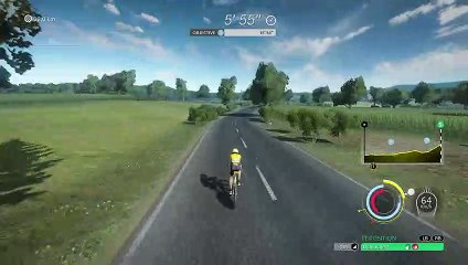 TDF2020 Gameplay Contre la montre Time Trial