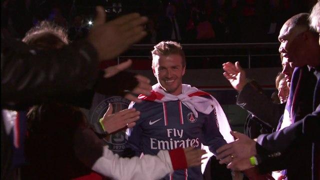 Le discours d'adieu de David Beckham au PSG