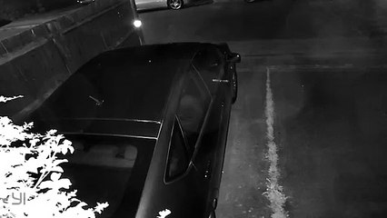 CCTV cameras record GHOST breaking into car on Milton Keynes estate