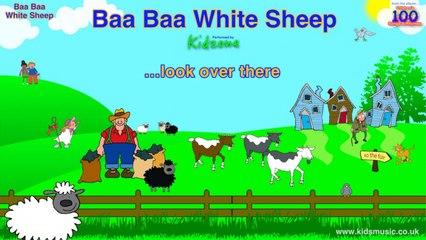 Kidzone - Baa Baa White Sheep