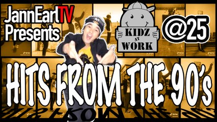 Kidz@Work Dance Hits from the 90's | Silver Anniversary Special