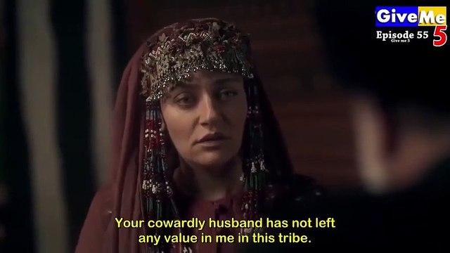 Dirilis Ertugrul Season 1 Episode 55 in Urdu Dubbed