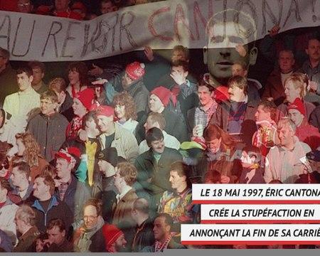 Man Utd - Il y a 23 ans, Eric Cantona raccrochait les crampons
