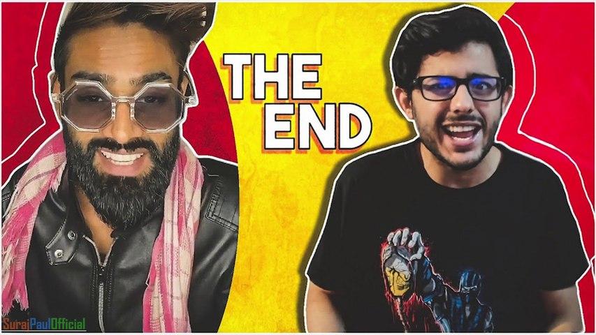 YouTube VS TikTok    The End    CarryMinati    Deleted Video    SurajPaulOfficial