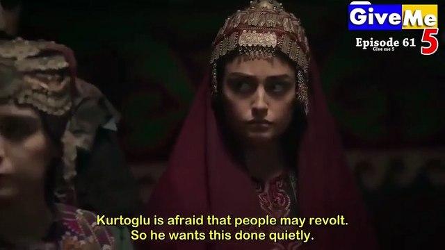 Dirilis Ertugrul Season 1 Episode 61 in Urdu Dubbed