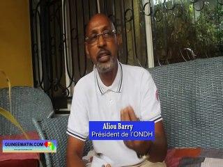 Aliou Barry, consultant international, spécialiste en questions de Défense et de Sécurité en Afrique et président de l'ONDH