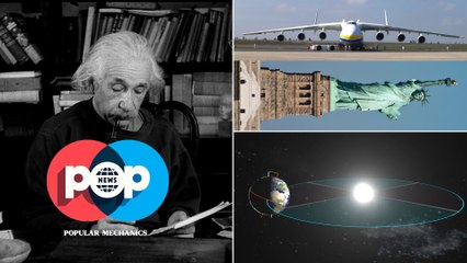 POP News: Marbles, Zoombots, Einstein and the AN-225