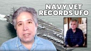 NAVY Vet Talks USS Nimitz UFO & JET CHASE