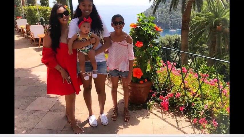 Kobe Bryant - Family (Wife Vanessa Bryant, Daughters Bianka, Gianna & Natalia Bryant)