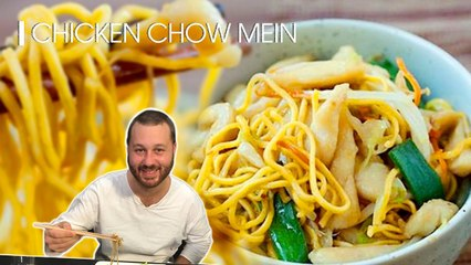 RECIPE TO MAKE SPECIAL CHINESE DISH CHICKEN CHOW MEIN NOODLE