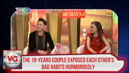 THE 19-YEARS COUPLE EXPOSED EACH OTHER'S BAD HABITS HUMOROUSLY