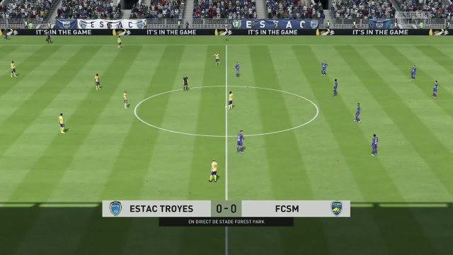 ESTAC Troyes - FC Sochaux  : notre simulation FIFA 20 (L2 - 34e journée)