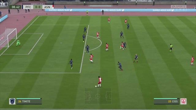 Paris FC - AS Nancy-Lorraine : notre simulation FIFA 20 (L2 - 34e journée)