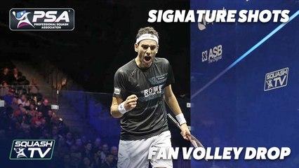 Signature Shots - Mohamed ElShorbagy - Fan Volley Drop