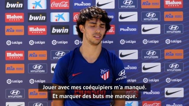 """Atlético - Joao Félix : """"Marquer des buts me manque"""""""