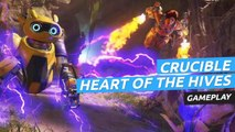 Gameplay  de Crucible en el modo Heart of the Hives