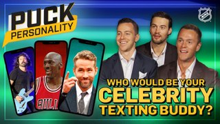 Puck Personality: Celebrity Texting Buddy