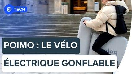 Ce vélo électrique gonflable tient dans un sac à dos | Futura