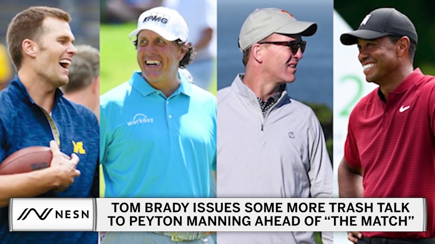 Tom Brady Ramps Up Peyton Manning Trash Talk Ahead Of