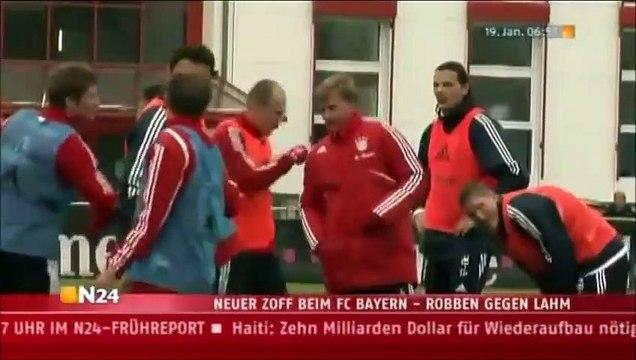 Le jour où Lizarazu a frappé Lothar Matthaus