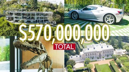 Inside 9 Deluxe California Mansions Worth A Combined $570M