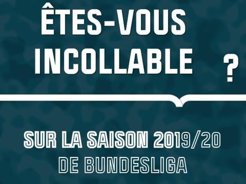 Quiz - Etes-vous incollable sur la saison 2019/20 de Bundesliga ?