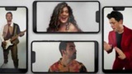 Jonas Brothers & Karol Team Up for Festive 'X' Video | Billboard News