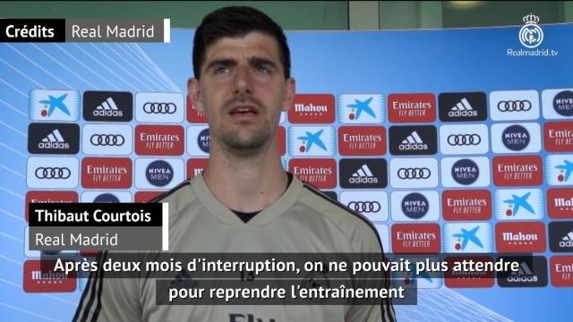 "Real Madrid - Courtois : ""On ne pouvait plus attendre"""
