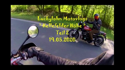 Luckylohn mit Z 900 RS  Sundern Ochsenkopf - Vlog 5 -19.05.2020 Teil 2