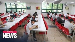 S. Korean high school seniors resume classes on Wednesday