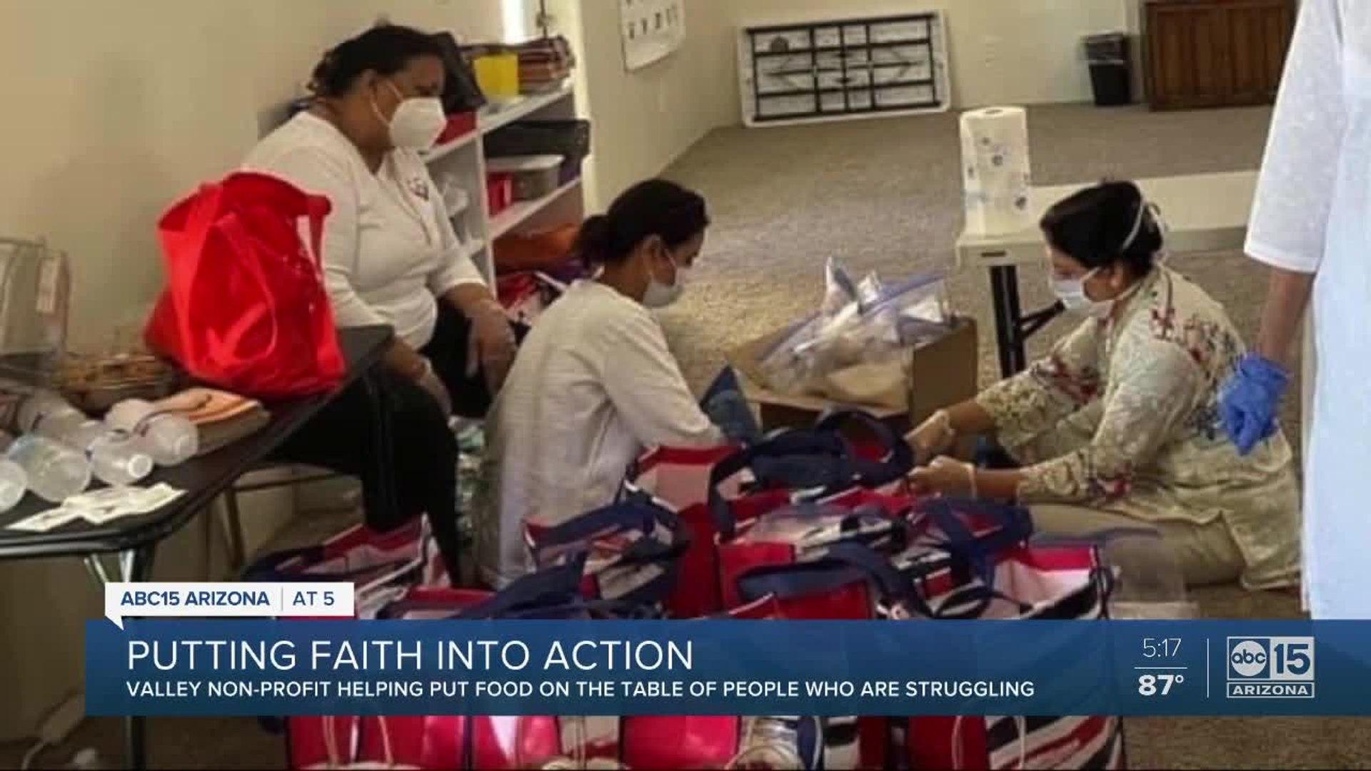 Valley non-profit puts faith into action