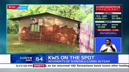 KWS Brutality in Kakamega Locals are living in fear due to killings allegedly perpetrated by KWS