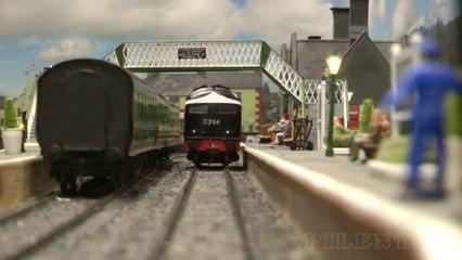 Modélisme ferroviaire en Irlande: Un merveilleux réseau ferroviaire à l'échelle O